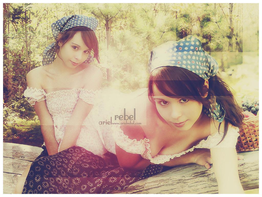 arielrebel и candydoll фото